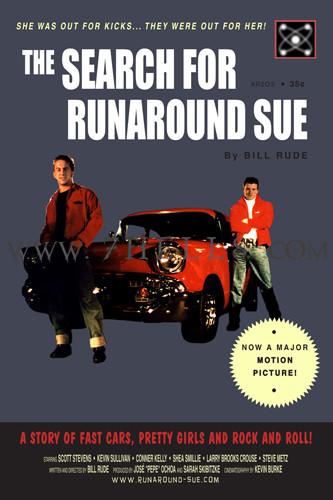 'THE SEARCH FOR RUNAROUND SUE' MOVIE POSTER PROMO 02