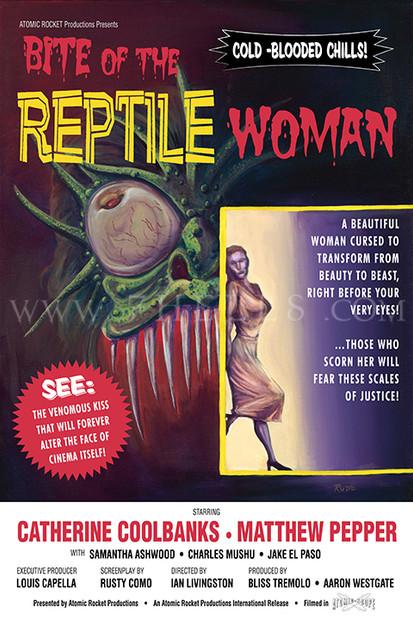 BITE OF THE REPTILE WOMAN