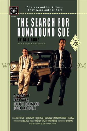'THE SEARCH FOR RUNAROUND SUE' MOVIE POSTER PROMO 03