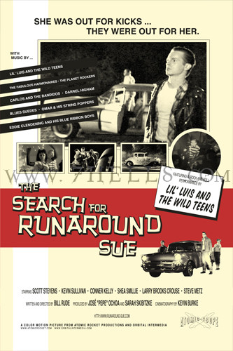 'THE SEARCH FOR RUNAROUND SUE' MOVIE POSTER ONE SHEET