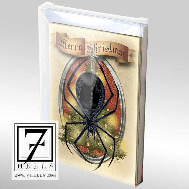 Christmas Spiders Holiday Cards