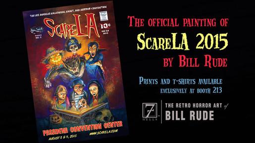 OFFICIAL POSTER ART of ScareLA 2015 Promo