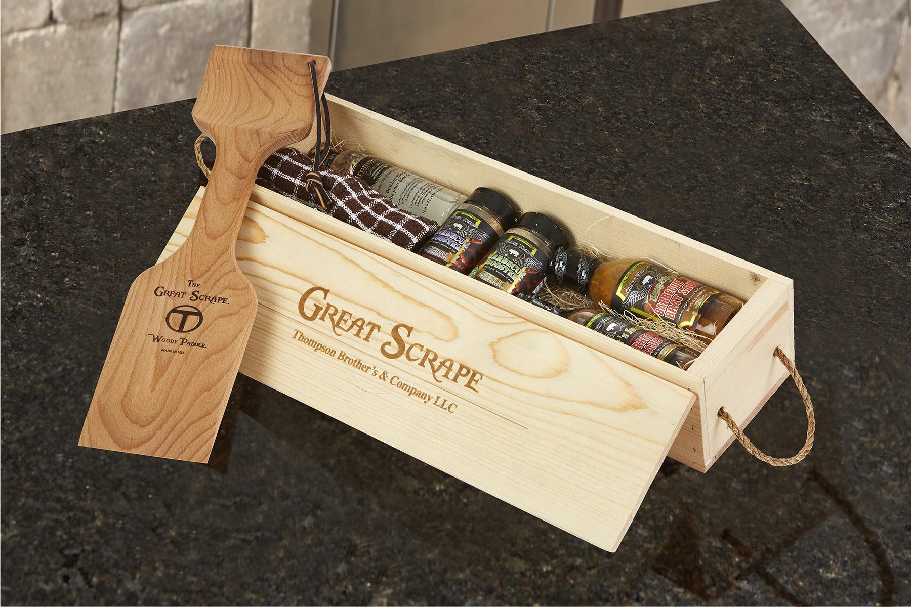 Gift Box Paddle18 on granite -29895 RET
