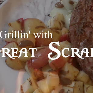 Grilled Apple Pork Loin