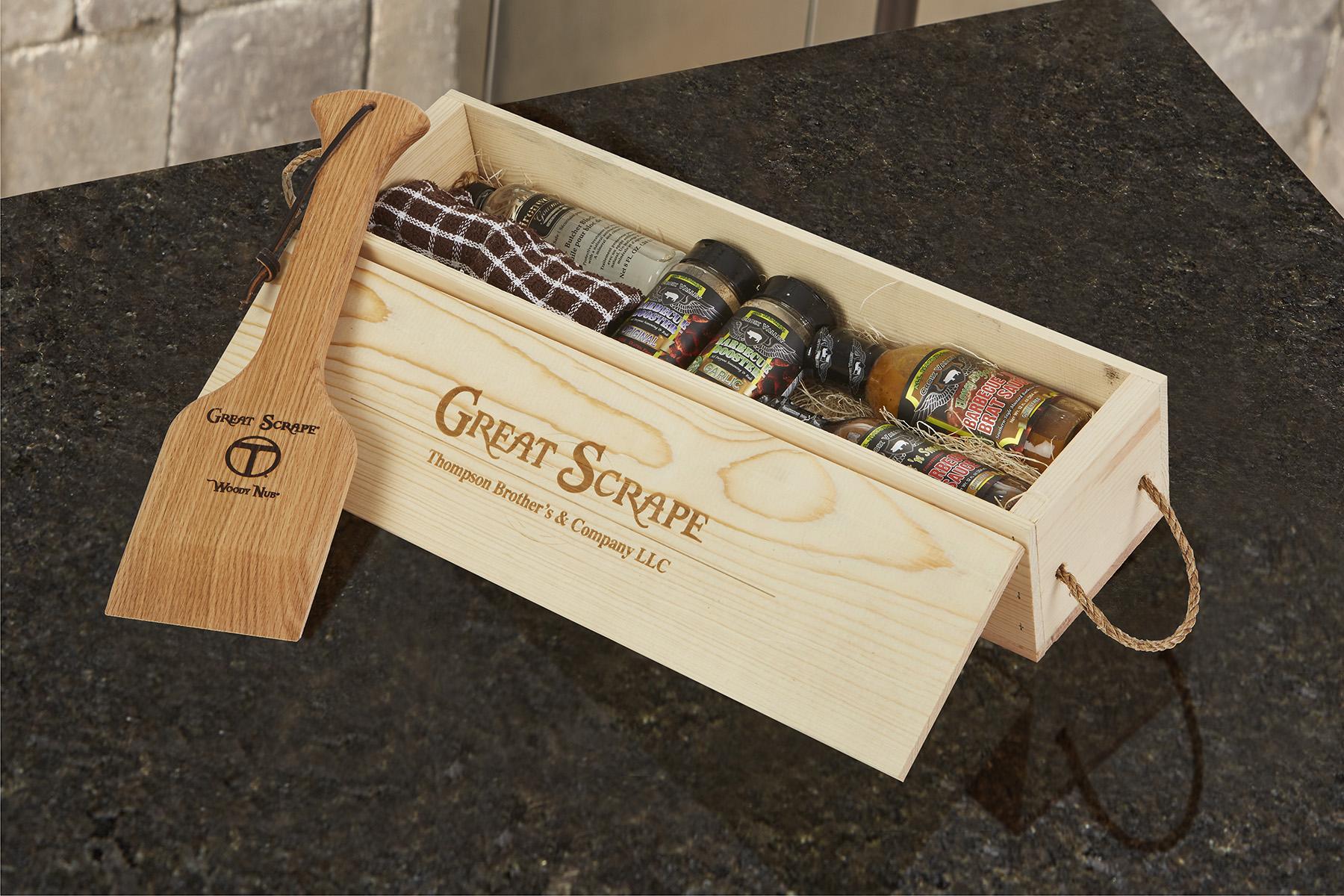 Gift Box Nub on granite -29896 RET 4x6