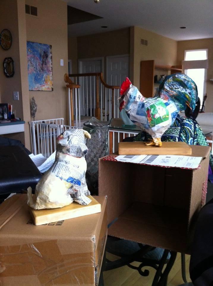 Paper Mache Sculptures
