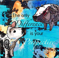 The only difference is your perspective
