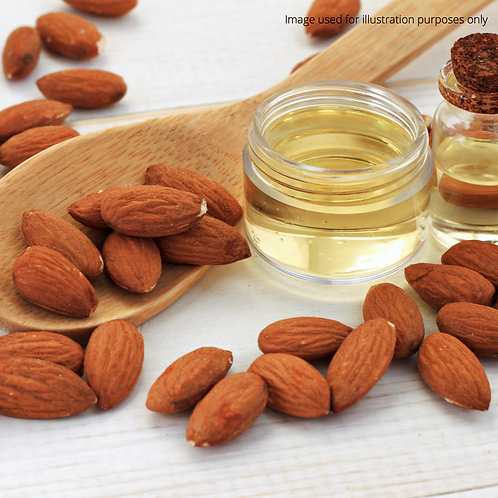 Sweet Almond Oil (Cold-Pressed) (300ml)