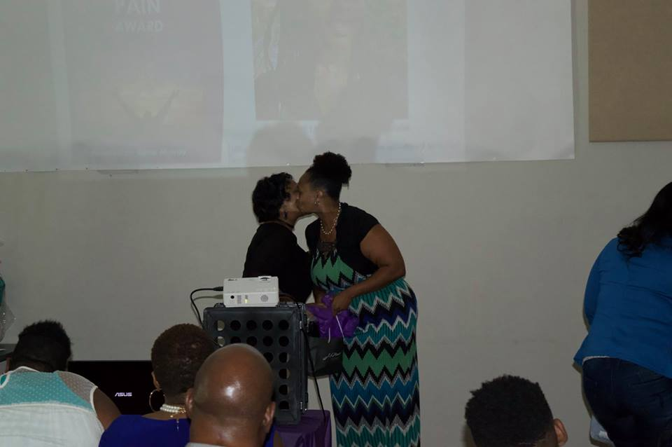 Honoree Latoya Murray-Johnson