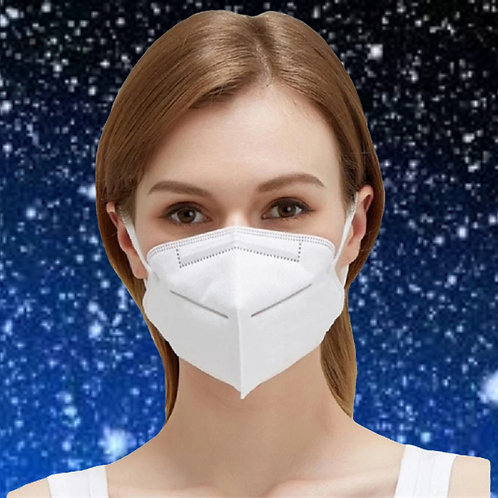 KN95 Face Mask Respirator 100 Pack NON Medical Breathable 5-Layer Protection