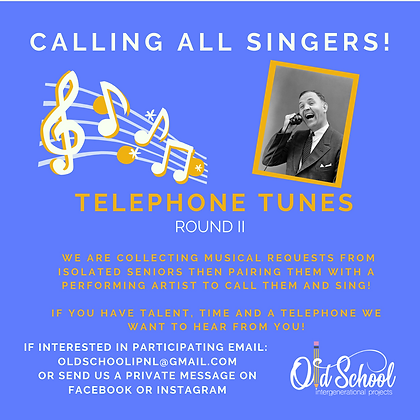 Telephone tunes call for singers.png