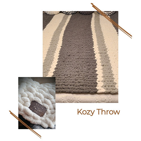 LIMITED Regular Stitch Throw (8 summer colors)