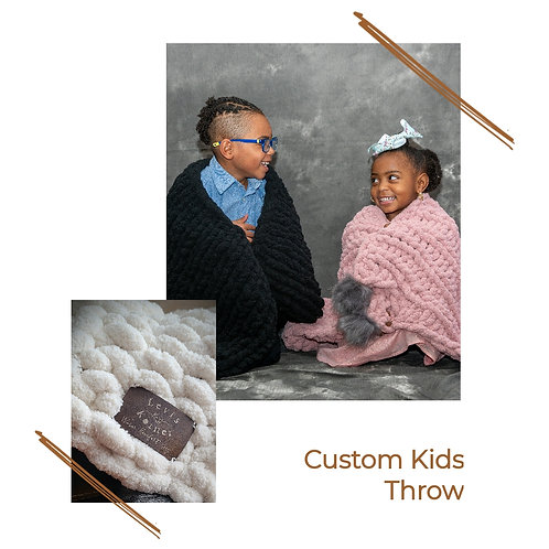 Kid's Kozy Throw