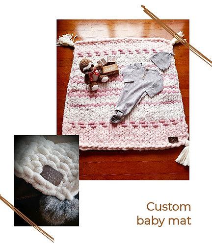 Custom Kozy baby mat