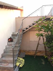 מדרגות ברזל חיצוניות