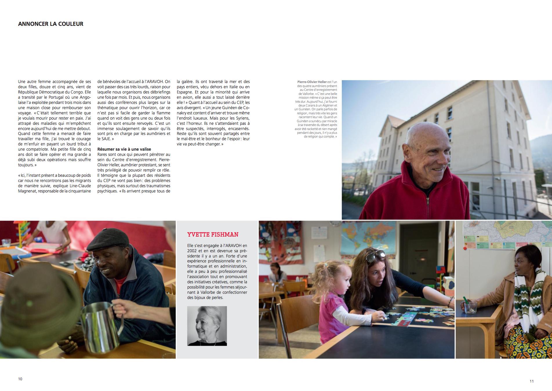 AGIR, le magazine de l'Entraide Prot