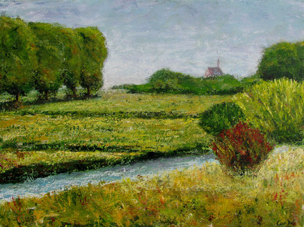 Riviertje De Niers met uitzicht op Roepaan