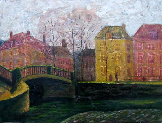 Den Haag Naar schets van Vincent van Gogh