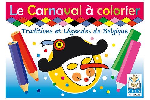 Le Carnaval (coloriage et légendes)