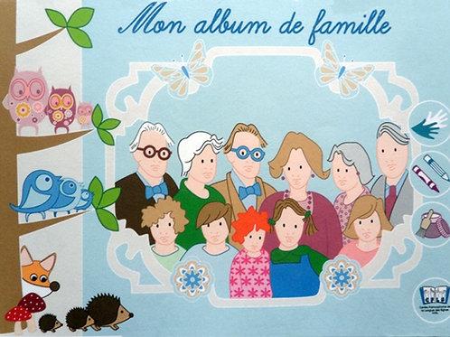 Mon album de famille (album photo et dessins)