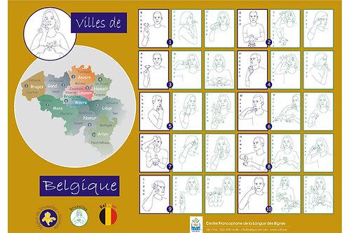 Villes de Belgique