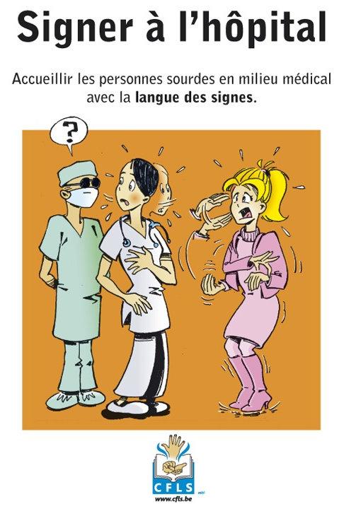 Signer à l'hôpital