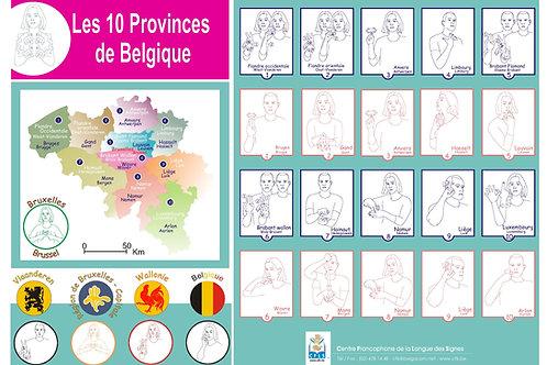 Provinces de Belgique