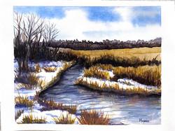 """Purgatory Creek in late March"""