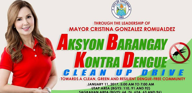 City Government To Conduct Clean Up Drive Against Dengue