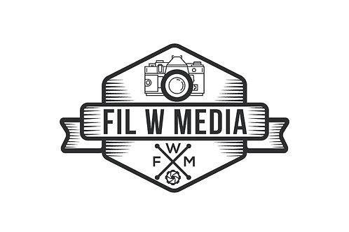 Fil W Media Sticker
