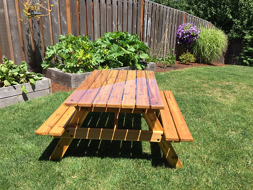 Kids Picnic Table - Preteen Size