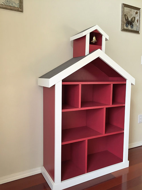 Schoolhouse / Firehouse Bookcase