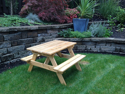 Child's Outdoor Picnic Table - ages 2 - 7