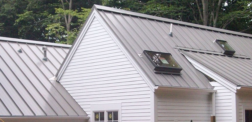 snap lock roof in slate gray (Hillsborou