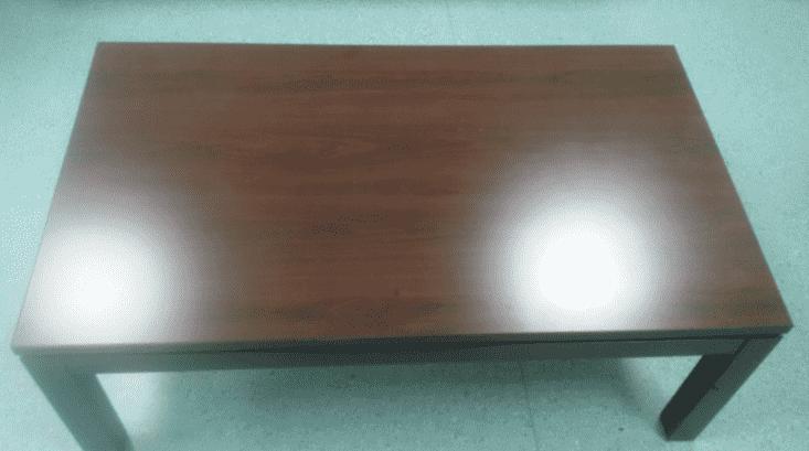 Журнальный столик махагон