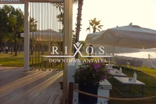 Тур в Турцию в отель RIXOS Downtawn Antalya 5* на двоих с вылетом из Самары