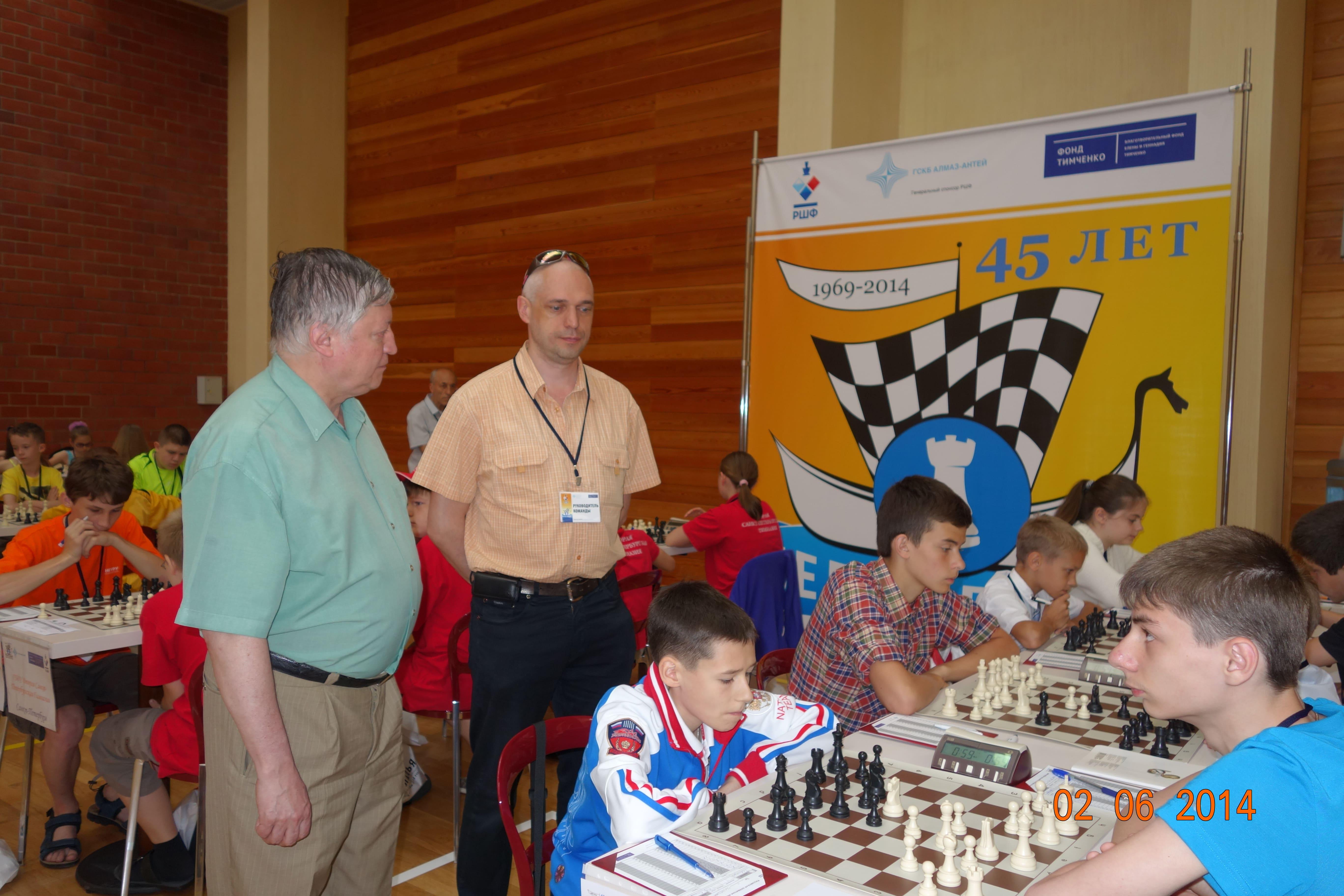 Куликов Олег-тренер по шахматам
