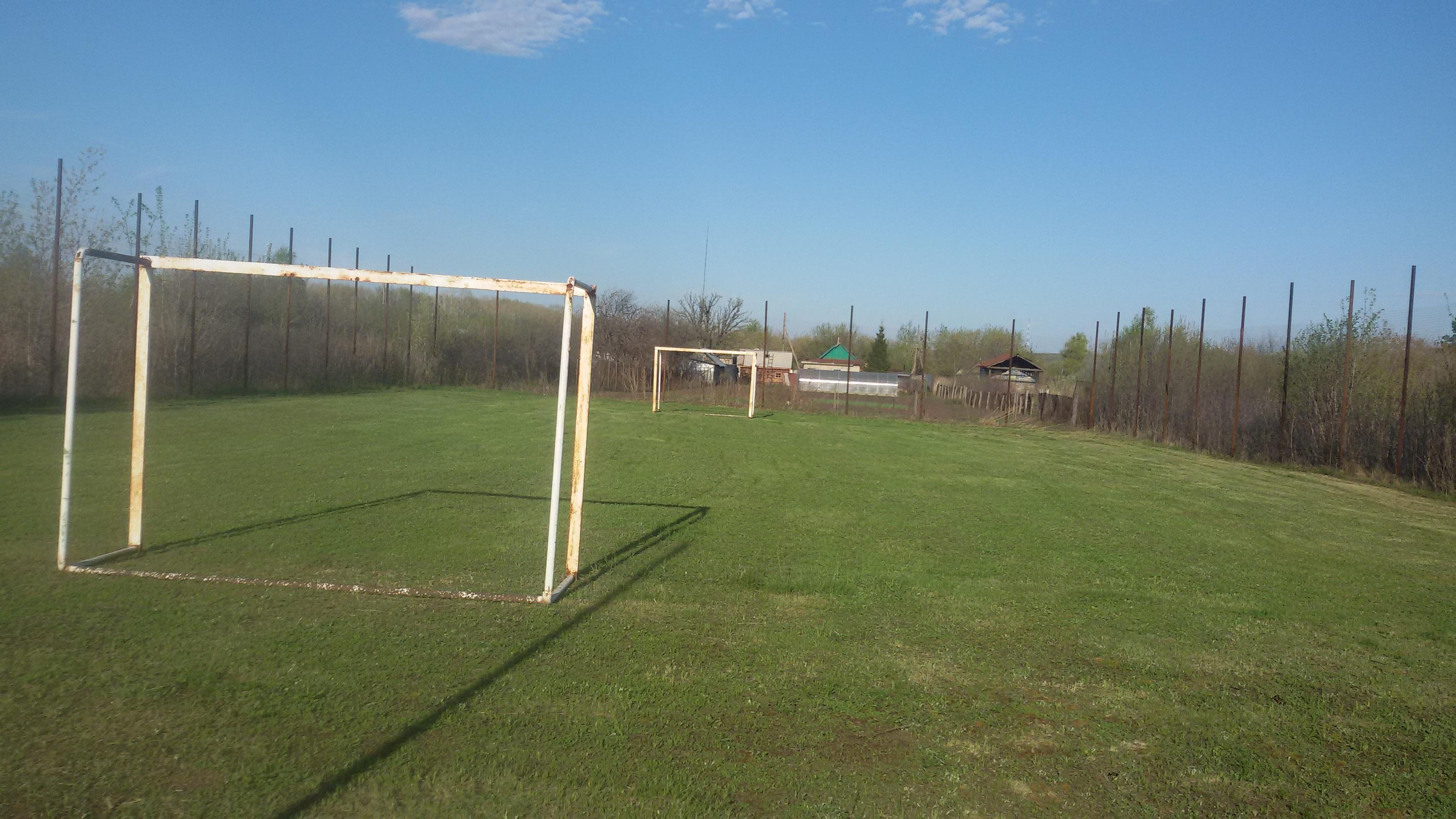 Футбольное поле недалеко от Самары