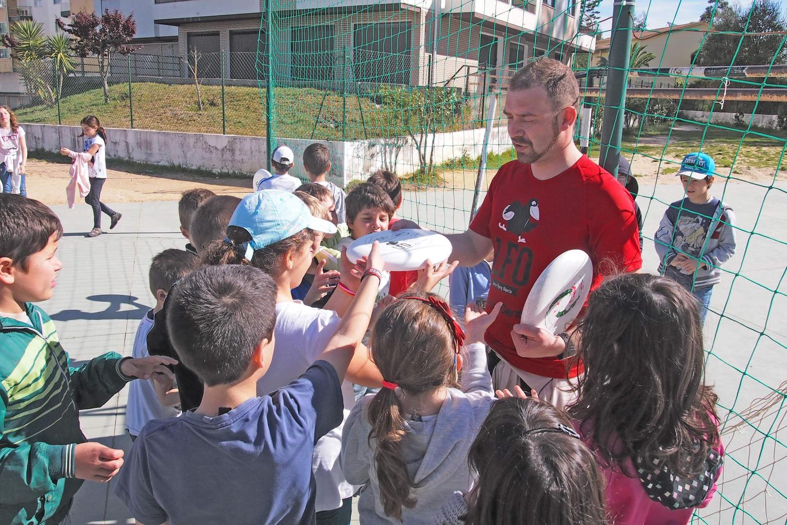 Formação nas escolas (2014)