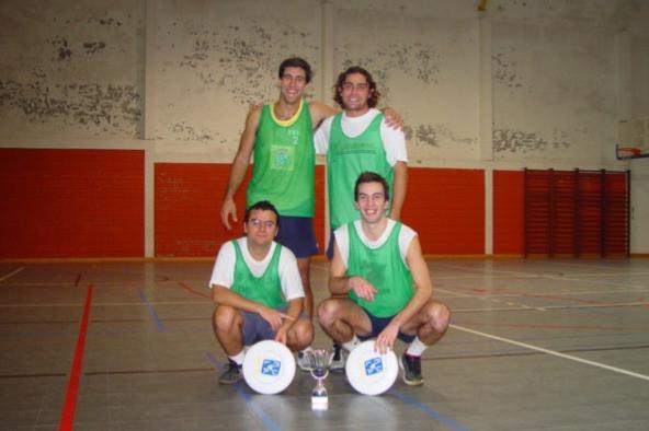 Vitória no campeonato nacional indoor (2003)