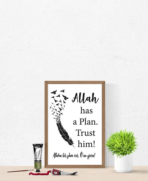 Allah has a Plan