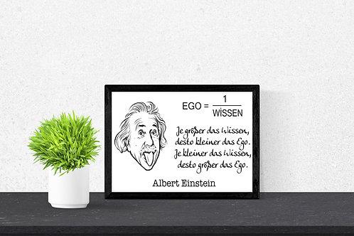 Ego - Albert Einstein