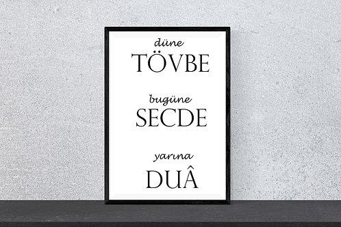 Tövbe Secde Dua