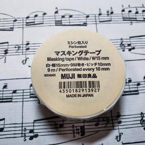 【雑記】(榎本的)楽譜の製本法