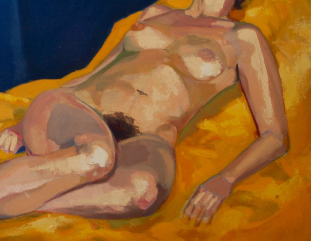 Nude Study | c.1992 | Oil on canvas | 71 x 91 cm