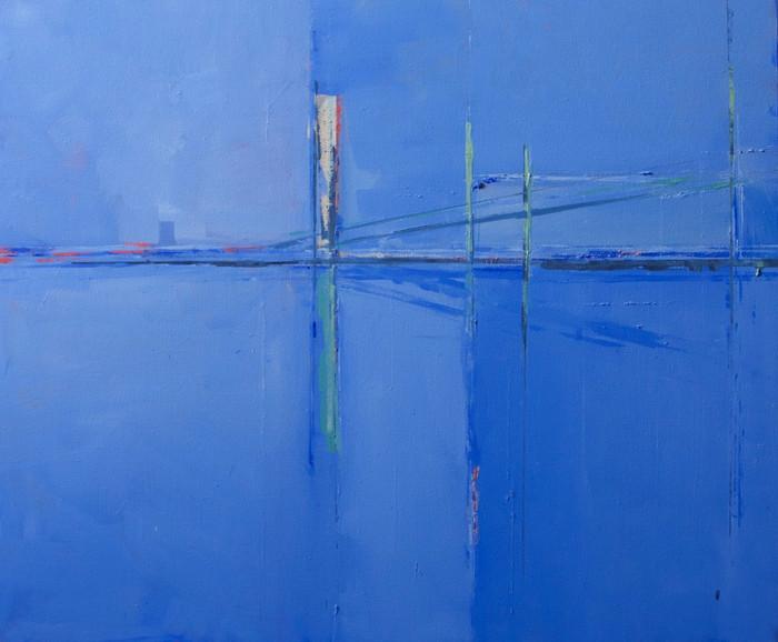 Estuary III   2013   Oil on canvas   50.8 x 61 cm
