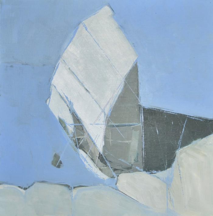 Seaford outcrop | 2013 | Oil on canvas | 40 x 40 cm
