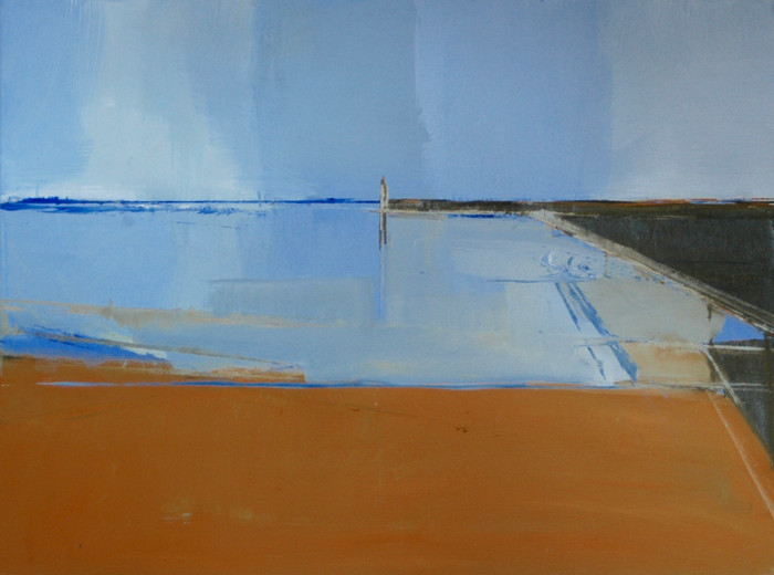 Newhaven II | c.2013 | Oil on canvas | 45.7 x 61 cm