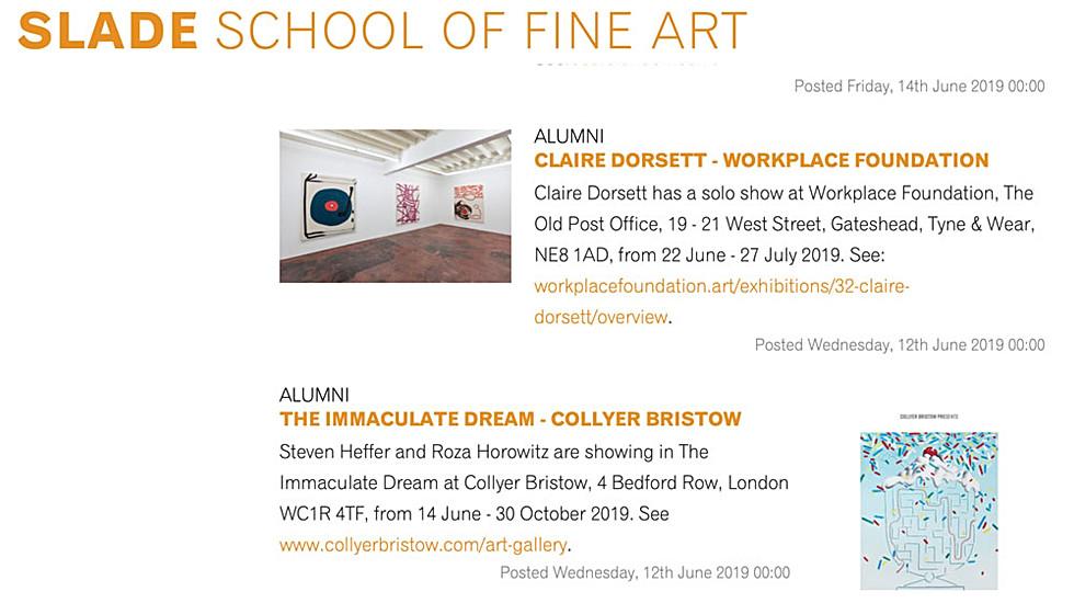 Slade School of Fine Art