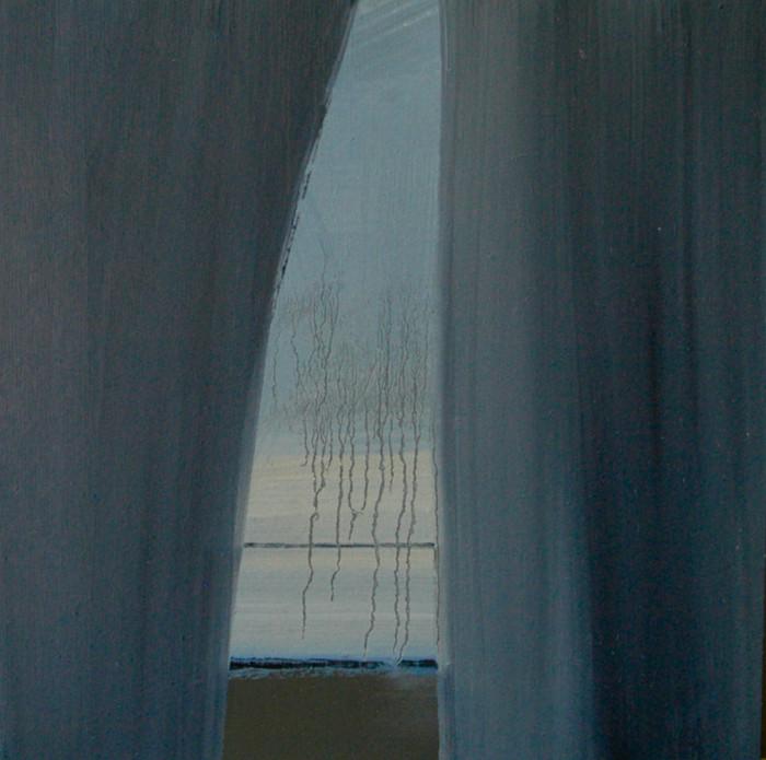 Winter passing | 2013 | Oil on board | 30.5 x 30.5 cm